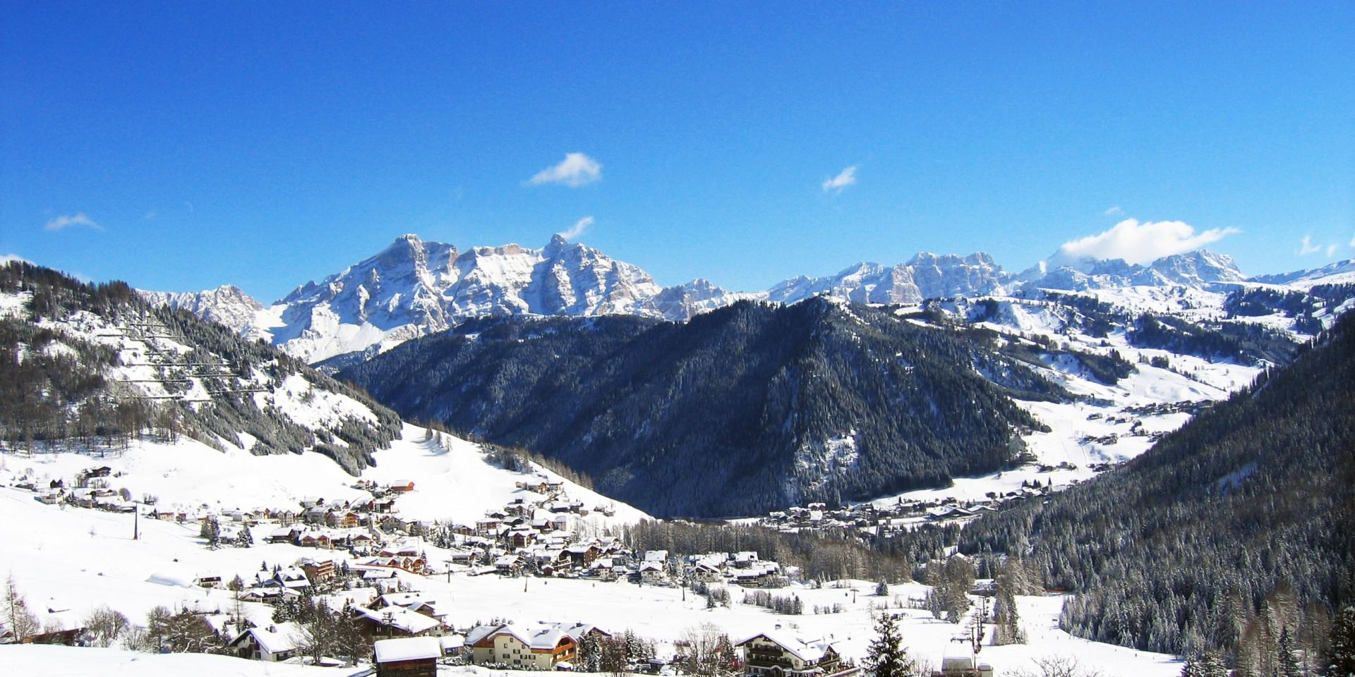 vista invernale dal nostro hotel