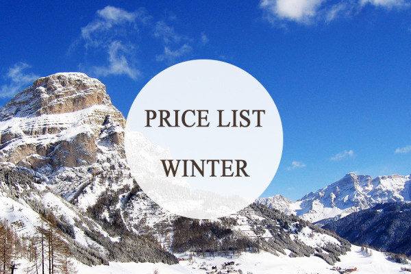 price list winter button
